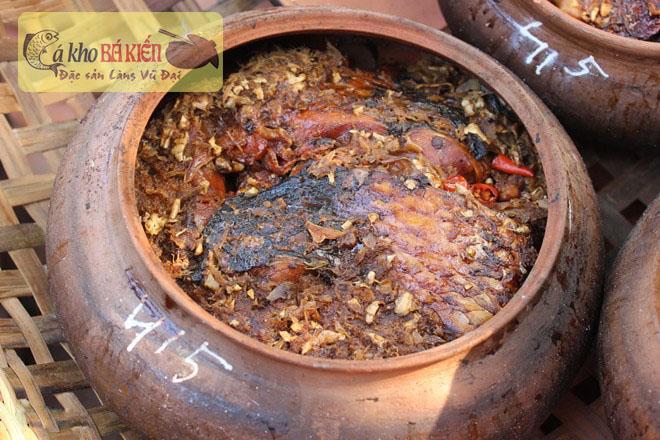Cá kho Bá Kiến là thương hiệu đẳng cấp của làng Vũ Đại