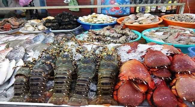 Quảng Bình có những món ăn hải sản rất đặc trưng