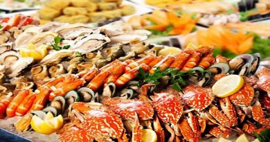bề bề hấp - hải sản biển Sầm Sơn