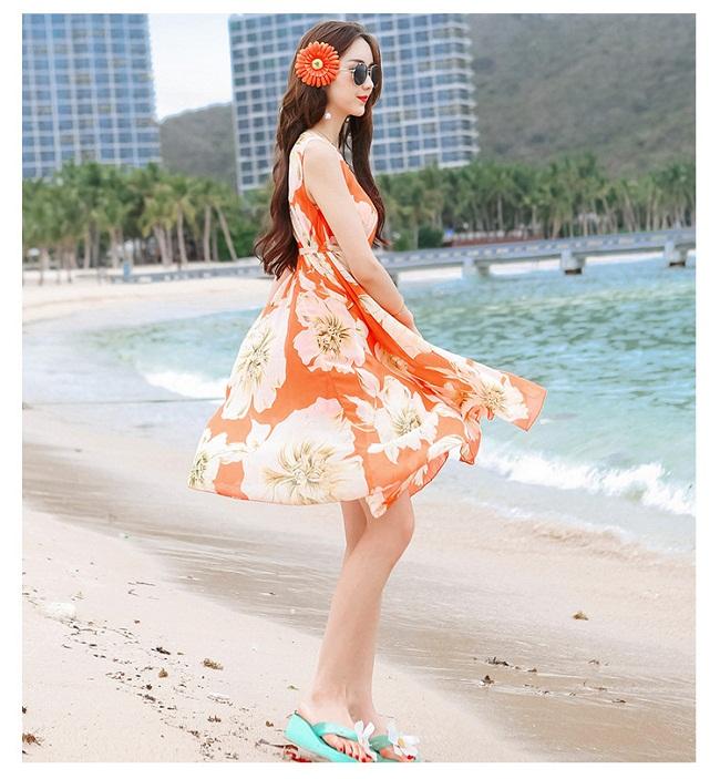 Thướt tha vẻ đẹp váy maxi